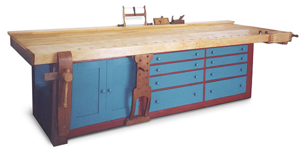 Shaker-style Workbench - Fine Woodworking Photo Gallery