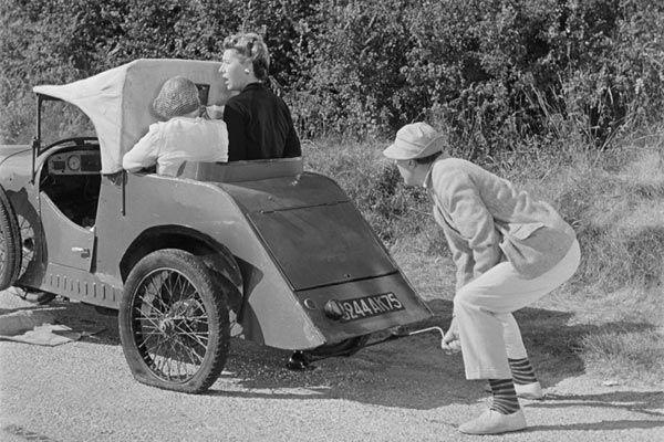 Mr Hulot jacking his passengers