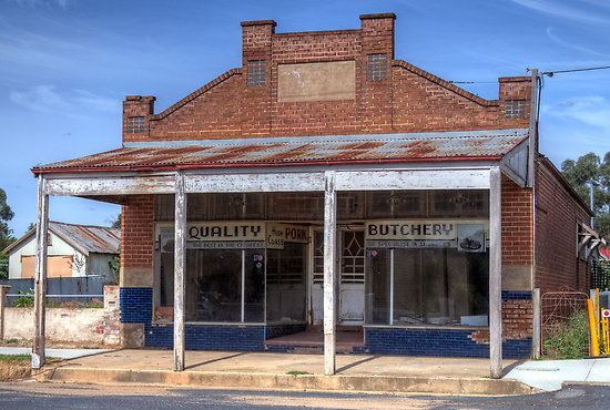 Old Butchery in Boorowa
